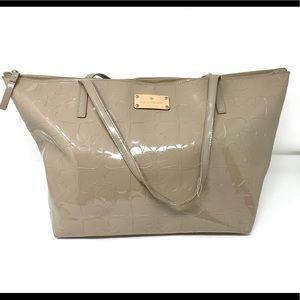 Kate Spade Ace Of Spades Tote Handbag Large